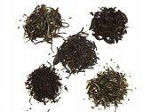 black orange pekoe pu-erh long leaf black tea white tea and green tea with jasmine poster