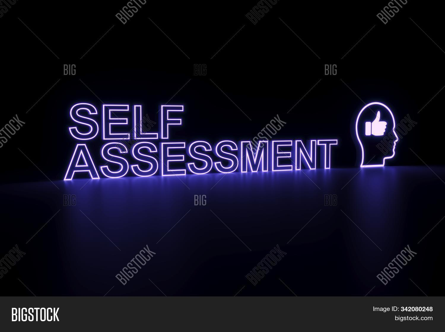 Self Assessment Neon Image Photo Free Trial Bigstock Sometimes it feels crazy overwhelming to keep assessing students and know exactly what they do/don't understand. self assessment neon image photo
