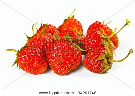 Juicy Ripe Strawberries