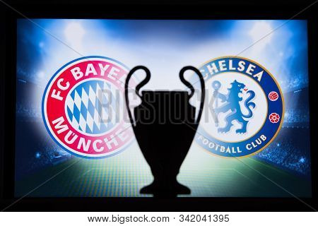 Uefa Champions League 2020, Round Of 16 Ucl Football, Knockout Stage, Playoff, Official Adidas Socce