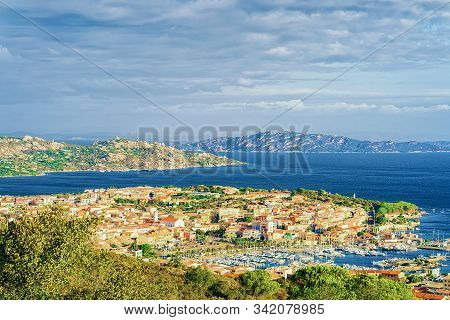 Landscape Of Palau Maddalena Island In Sardinia Italy