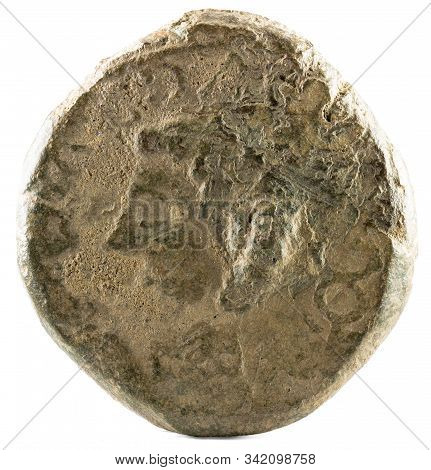 Ancient Roman Bronze Coin Of Emperor Augustus. As. Coined For Payment To The Veteran Legionnaires Of