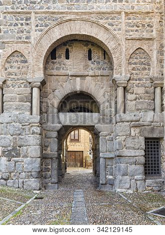 This Gate, Also Known As  Puerta Vieja De Bisagra, Was Once The Main Entrance To The City Of Toledo.