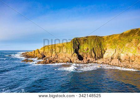 Dramatic Coastal Landscape At Bloody Foreland, Donegal, Ireland