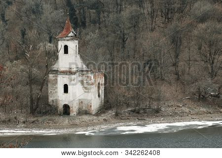 Old abandonned church in the outdoors