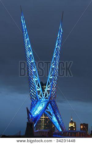 Oklahoma City SkyDance Bridge