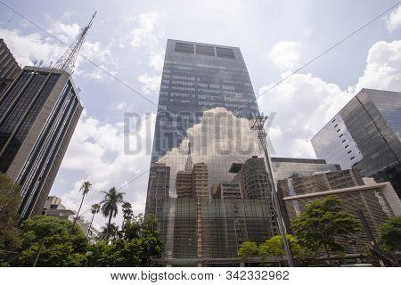 Avenue Paulista, Sao Paulo Brazil