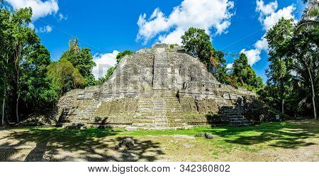Lamanai Archaeological Reserve Mayan Ruins High Temple Belize