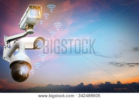 Cctv Camera System, Home Security Technology Condo Outside Security