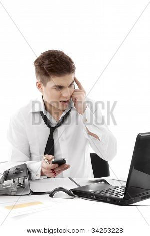 Very Busy Businessman