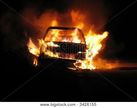 Car Burning, Nightshot