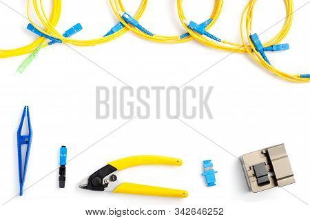 Optical Fiber Stripping And Welding Tool Kit