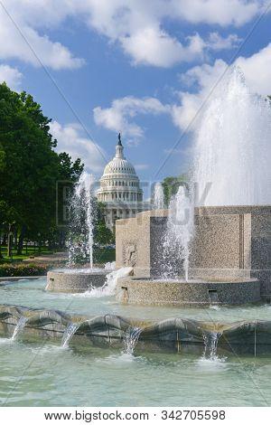 United States Capitol  - Washington DC United States of America