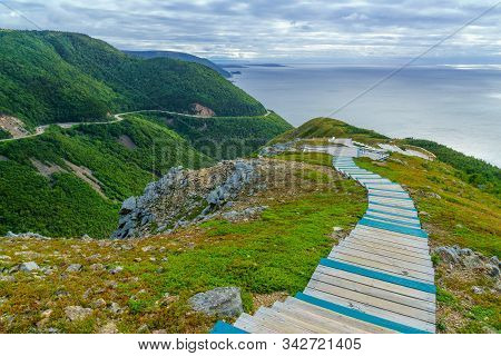 Views Of The Skyline Trail, In Cape Breton Highlands National Park, Nova Scotia, Canada