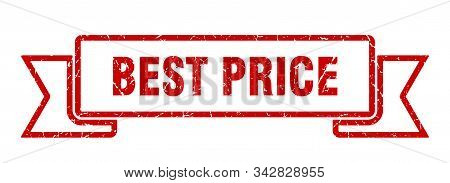 Best Price Grunge Ribbon. Best Price Sign. Best Price Banner
