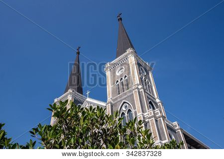 The Church In Chantaburi Province Of Thailand