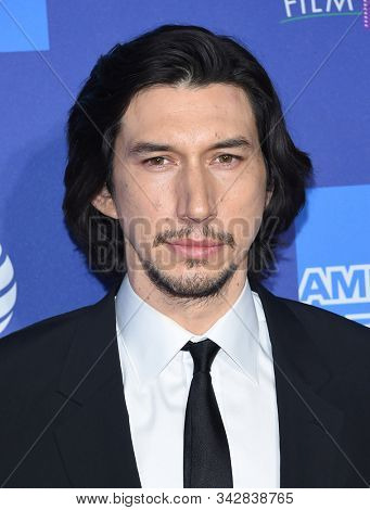 LOS ANGELES - JAN 02:  Adam Driver arrives for the PSIFF Awards Gala 2020 on January 02, 2020 in Palm Sprimgs, CA