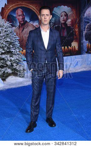 LOS ANGELES - DEC 09:  Colin Hanks arrives for the ÔJumanji: The Next LevelÕ Los Angeles Premiere on December 09, 2019 in Hollywood, CA