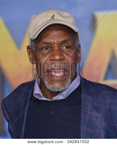 LOS ANGELES - DEC 09:  Danny Glover arrives for the ÔJumanji: The Next LevelÕ Los Angeles Premiere on December 09, 2019 in Hollywood, CA