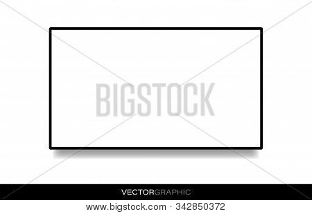 Tv Display Template One Black 2 White