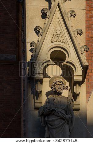 Exterior Of Church Of The Sacred Heart Of Jesus (herz Jesu Kirche) In Graz, Styria Region, Austria