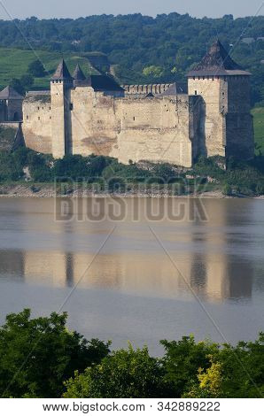 Khotyn Fortress And Dniester River