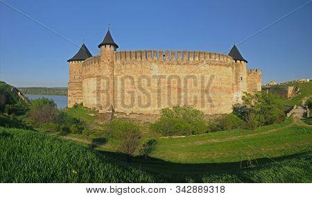 Khotyn Fortress Panorama