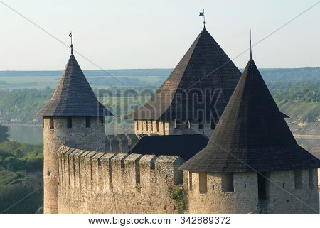 Roofs Of Khotyn Fortress