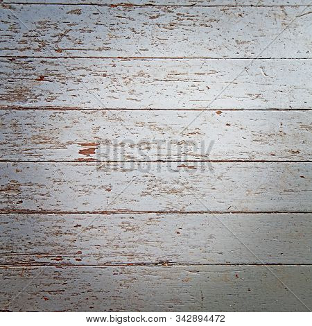 Paint Chipped Floor Background With Vignette And Backdrops.  12x12 Paint Flaking Is A Light Gray Col
