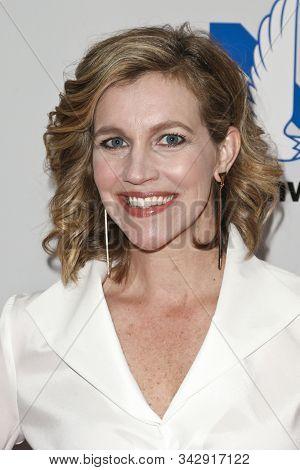 NEW YORK - SEPTEMBER 27: Sportscaster Krista Voda attends the 2016 NASCAR Foundation Honors Gala at Marriott Marquis on September 27, 2016 in New York City.