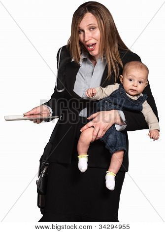 Businesswoman And Mother