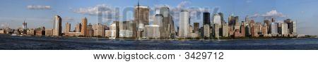 New York City (manhatten) Skyline  Late Afternoon