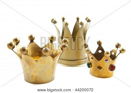 Three Golden Crowns