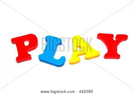 Toy Letters - Play