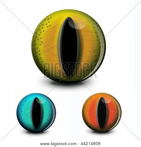 Great eyeball to add to your spooky creatures for Halloween projects or are there any dragon artworks out there in need of sight? poster