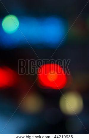 Evning Blue Blurred Background