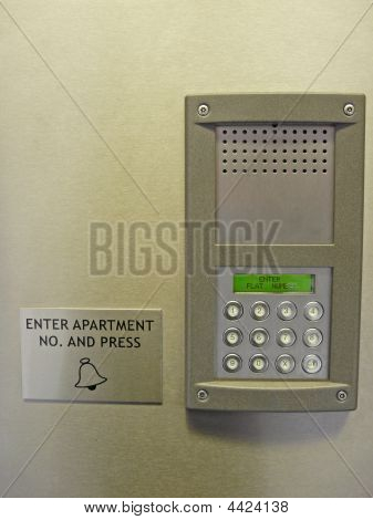 Entryphone System With Keypad
