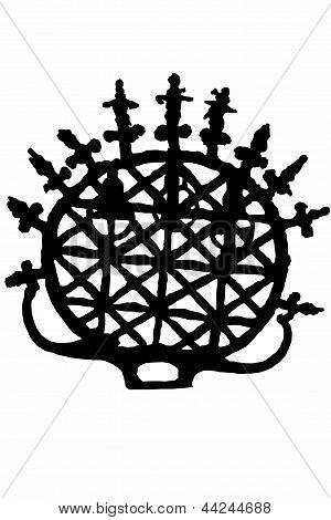 hattushash symbol silhouette