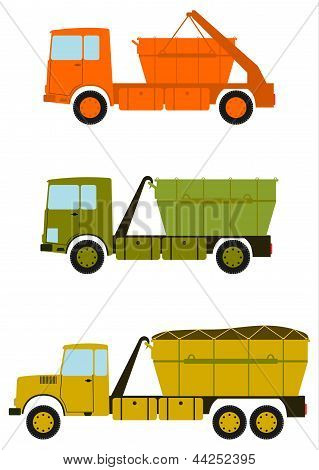 Construction Truck Set.