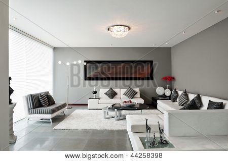 Innenarchitektur: Wohnzimmer