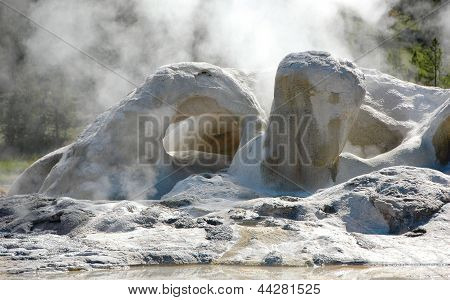 The Grotto geyser