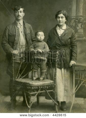 Family.retro Portrait.