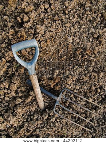 Gardening Metaphor - Rocky Ground, Broken Fork, Abandoned Hope