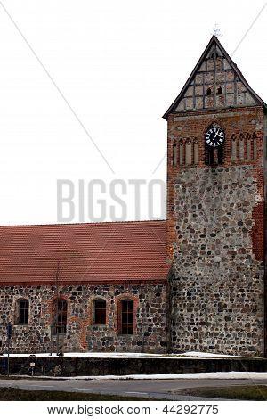 Fieldstone church Düpow