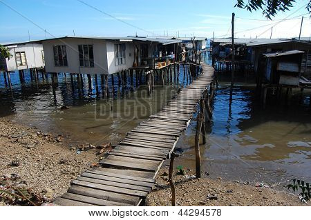 Village On Water