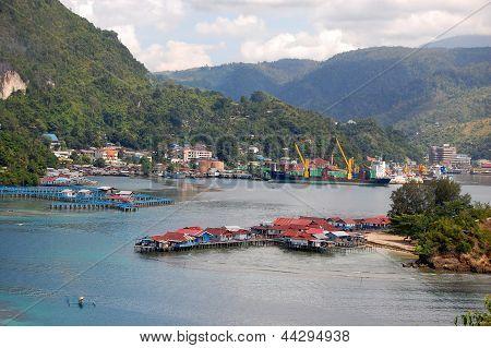 Sea Bay Town View