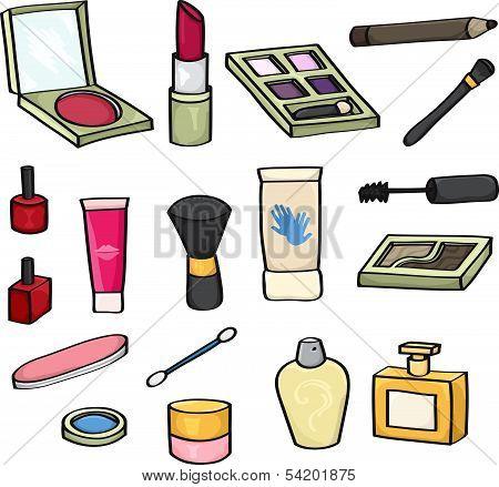 Cartoon Cosmetics Set