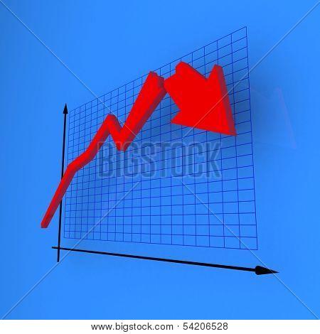 Blue crash diagram