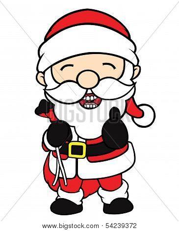 Santa Clause Thumbs Up