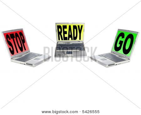 Stop Ready And Go Laptops